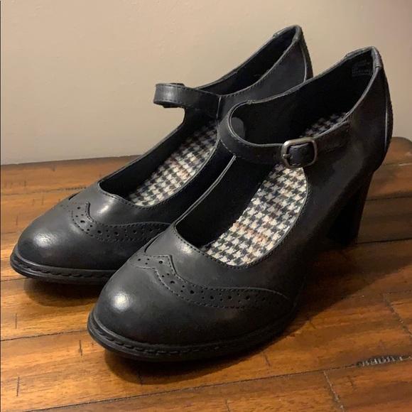 Xappeal Shoes - XAPPEAL Kenley Black Oxford Mary Jane Heels
